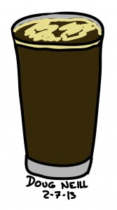 Doug's Daily Drawing #6 - 2013-2-7 - Alameda Stout