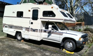 Warrior - Small RV Trailor - Doug Neill - Mobile home/office - setting a goal 16 months in advance