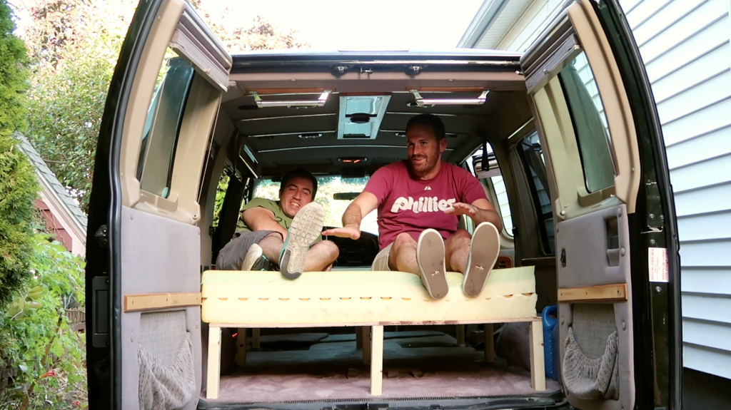 Vanlife Bed Frame - Supports Two People - Doug Neill